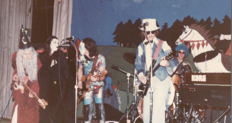 Allan Loucks live with Racer Halloween 1981